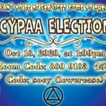 2020 Socypaa Elections flyer