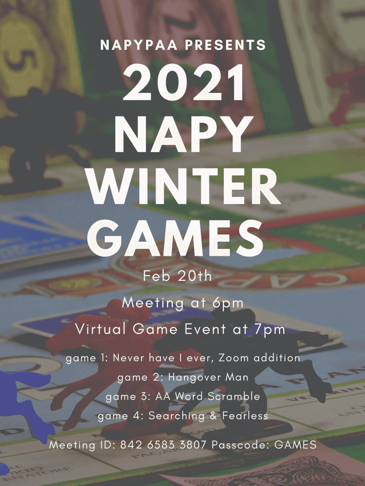 Socypaa Winter Games 2021